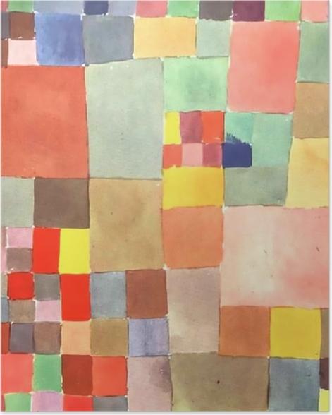 Plakat Paul Klee - Flora na piasku - Reprodukcje