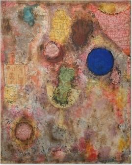 Plakat Paul Klee - Magiczny ogród