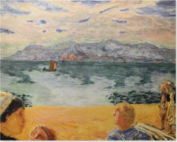 Plakat Pierre Bonnard - Paryż. L'Esterel - Reproductions