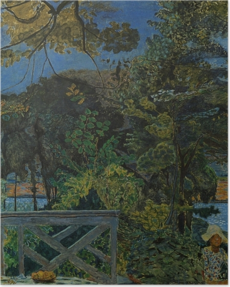Plakat Pierre Bonnard - Taras w Vernon - Reproductions