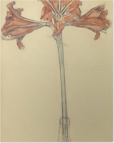 Plakat Piet Mondrian - Amarylis - Reprodukcje
