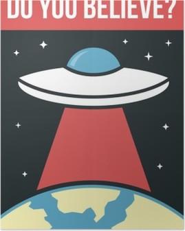 Plakát Plakát UFO