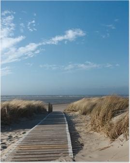 Plakat Plaże Morza Północnego na Langeoog