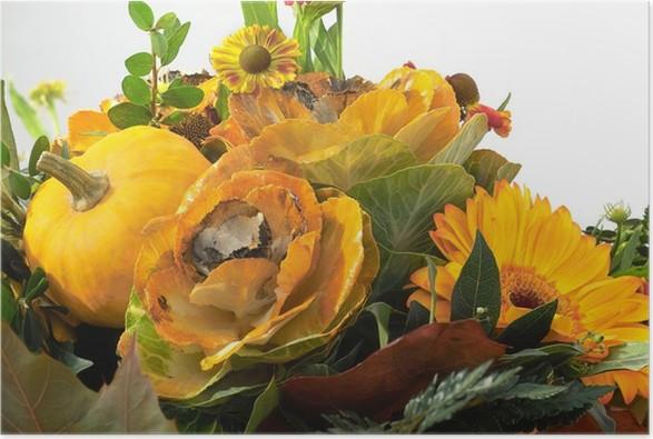 Plakát Podzim kytice - Rostliny