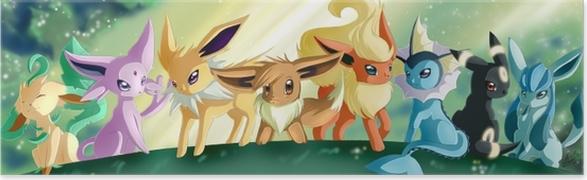 Plakat Pokemony - Tematy