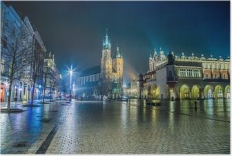 Plakaty Kraków Panoramy Miast Pixers żyjemy By Zmieniać
