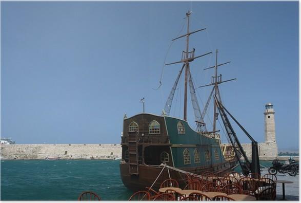 Plakát Přístav Rethymno - Evropa