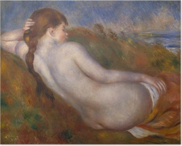 Plakat Reclining Nude - Impresjonizm