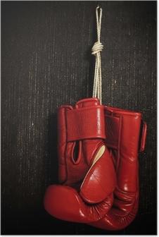 Plakat Rękawica bokserska