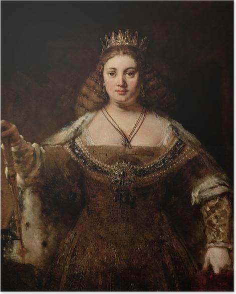 Plakat Rembrandt - Junona - Reprodukcje