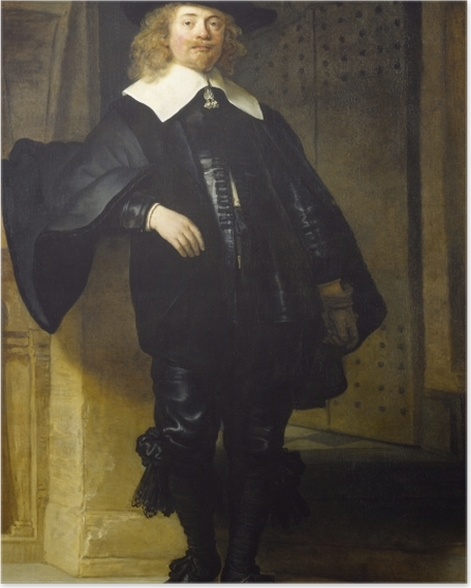 Plakat Rembrandt - Portret Andriesa de Graeff - Reprodukcje