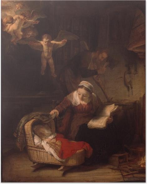 Plakat Rembrandt - Święta Rodzina - Reprodukcje