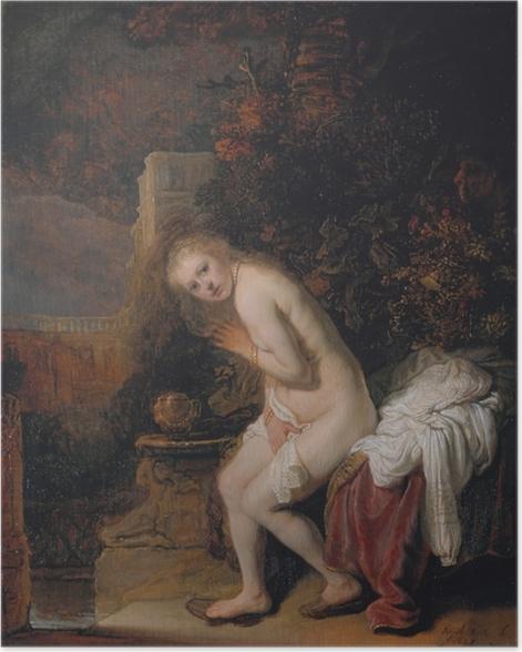 Plakat Rembrandt - Zuzanna i starcy - Reprodukcje