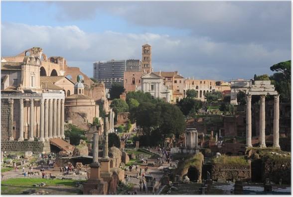 Plakát Roma Foro Romano - Témata