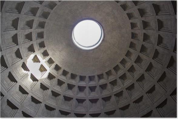 Plakát Roma, interno del Pantheon - Prázdniny