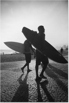 Plakat Rzeka słońca internautów desek surfingowych harpun Brazylia
