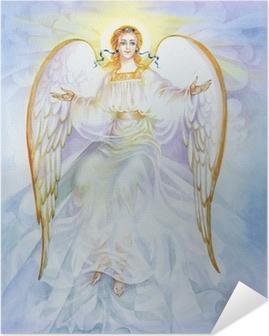 Plakat samoprzylepny Akwarela Anioł
