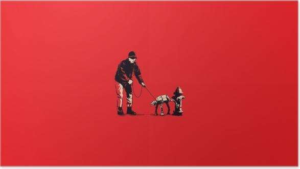 Plakat samoprzylepny Banksy - Tematy