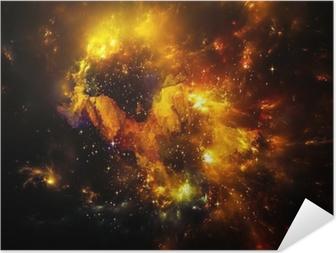 Plakat samoprzylepny Głębokość Nebula