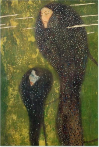 Plakat samoprzylepny Gustav Klimt - Syreny - Reprodukcje