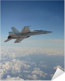 Plakat samoprzylepny Jetfighter w locie