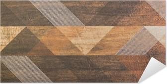 Plakat samoprzylepny Płytki z geometrycznych kształtów