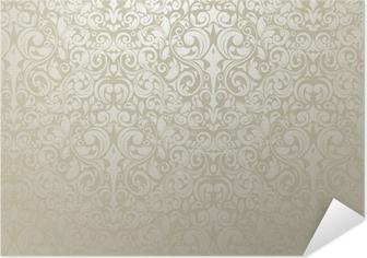 Plakat samoprzylepny Srebrny - tapety