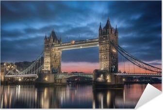 Plakat samoprzylepny Tower Bridge Londyn Anglia