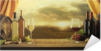 Plakat samoprzylepny Wino