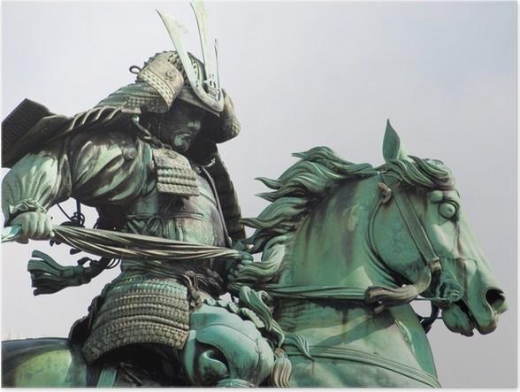 Plakát Samurai worrior - Památky