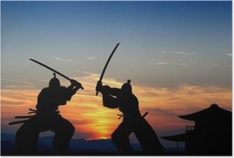 Plakat Samuraj