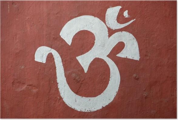 Plakát Sanskrit na - Náboženství