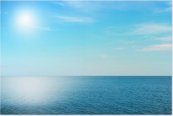 Plakát Sky a moře - Voda