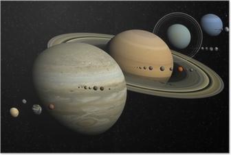 Plakát Sluneční soustava