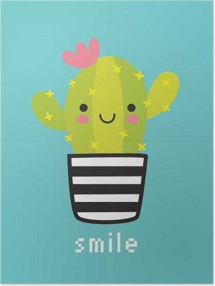 Plakat Smile - Motywacyjne