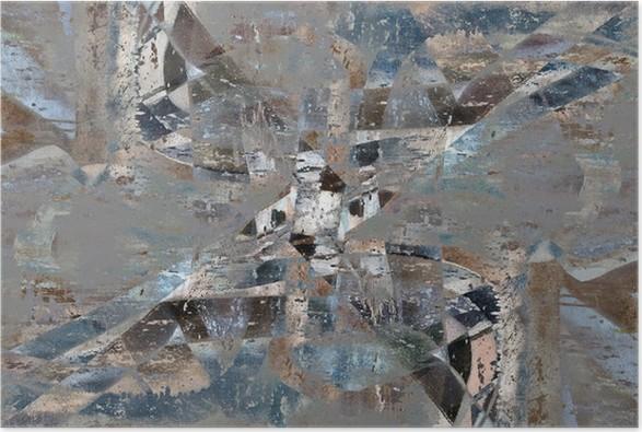 Plakát Špinavé pozadí - Umění a tvorba