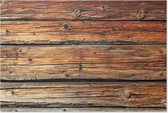 Plakat Stare drewno