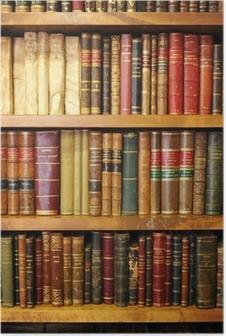 Plakat Stare książki, biblioteki