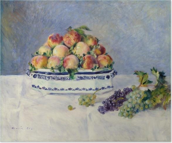 Plakat Still Life with Peaches - Impresjonizm