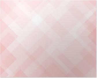Plakat Streszczenie eleganckie różowe tło