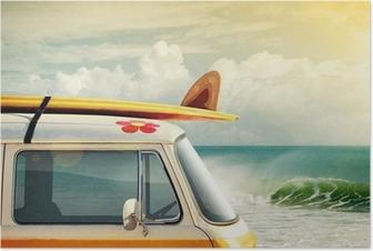 Plakat Surfowanie sposobem na życie