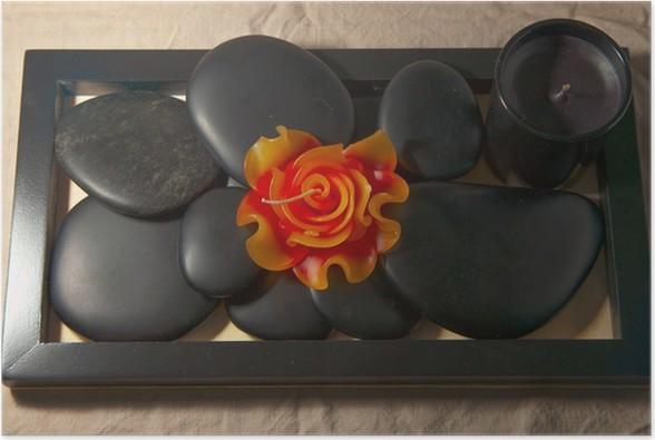 Plakát Svíčky a kameny - Jiné objekty