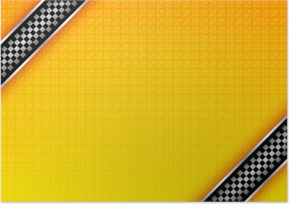 Plakát Taxi pozadí - Značky a symboly