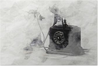 Plakat Telefon