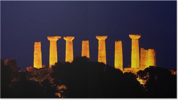 Plakát Temple of Hercules - Evropa