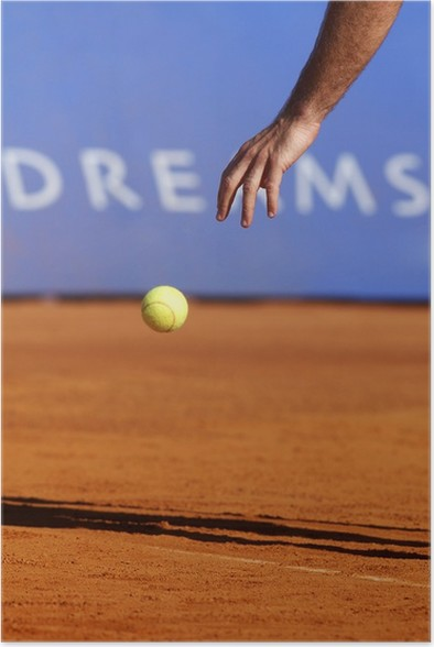 Plakát Tenis - Individuální sporty