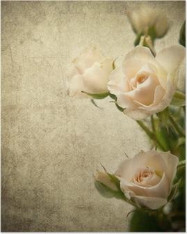 Plakat Texture rose