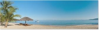 Plakát Tropické pláže panorama