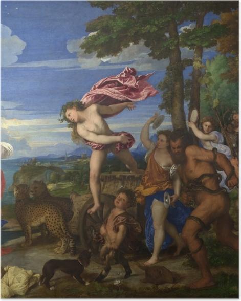 Plakat Tycjan - Bachus i Ariadna - Reprodukcje