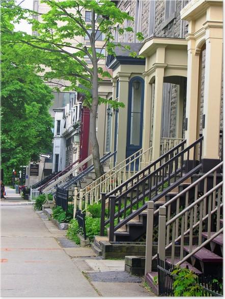 Plakát Ulice - Domov a zahrada